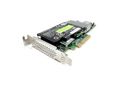 LSI 9750-4i PCIe SAS 6GB/s RAID Controller Low Profile with L3-25034-03 Battery