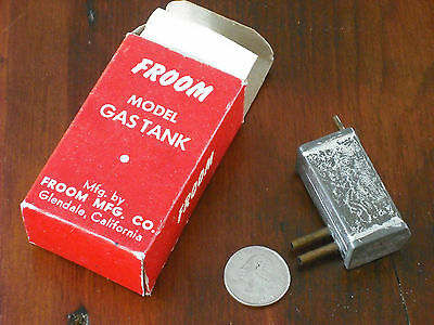 Froom Model airplane gas tank two speed T26B 7 oz NOS NIB