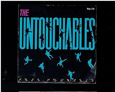 Untouchables Free Yourself Ps 45 1984 Stiff Records
