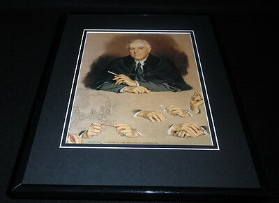 President Herbert Hoover Framed 11x14 Photo Display