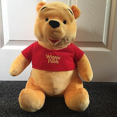 "Disney Winnie The Pooh Large 14"" Soft Toy. Excellent Condition- Not Played With!"