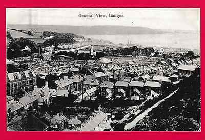 Dated 1911. General View ( from mountain ) Bangor, Gwynedd.