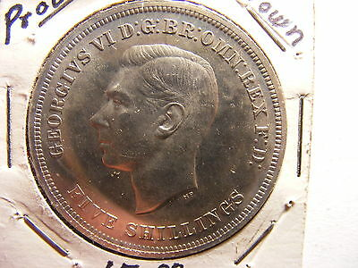 Great Britain Crown, 1951, Festival of Britain, Toned Proof