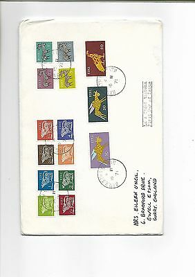 Eire - Ireland - 1971 Definitive Issue stamps on First Day Cover