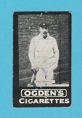 Cricket -  Ogdens Tabs -  Our Leading Cricketers - R.  Abel  Of  Surrey  -  1901