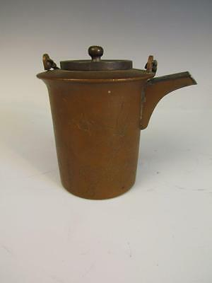 *TOP QUALITY* ANTIQUE JAPANESE or CHINESE signed ARTS & CRAFTS TEAPOT