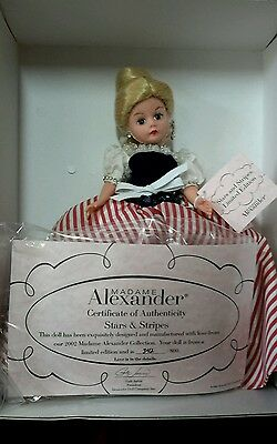 2002 Madame Alexander-Stars and Stripes #33740 Limited Edition 800 new