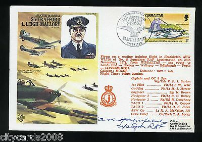1978 Leigh-Mallory RAF Cover signed  N Stansfeld  Battle of Britain