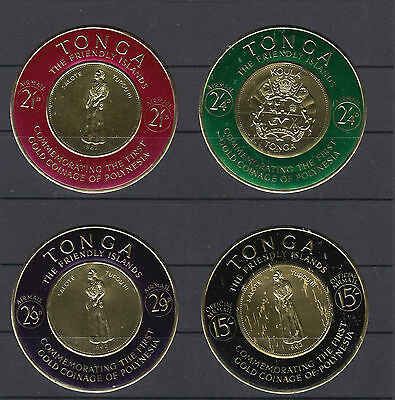 Four Fantastic mint Tonga Circular group