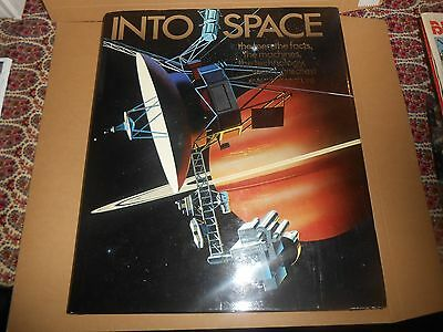 Into Space - Huge Planet Hardback Book Astronomy
