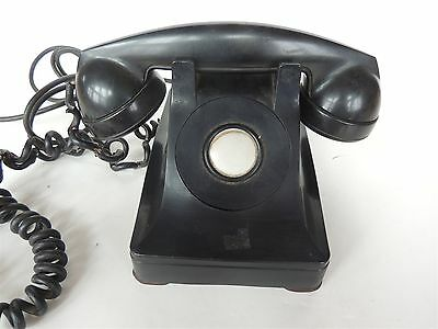 antique Bell system western electric extension telephone phone no dial