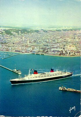 AK France in Le Havre, French Line