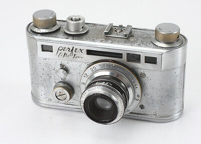 Candid Camera Perfex Fifty Five, 50/3.5 Wollensak, Many Problems/193322