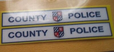 County Police. decals sticker