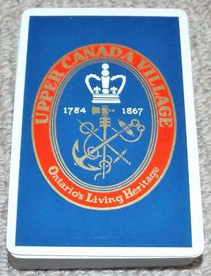 Upper Canada Village - Vintage Pack of 1960's Congress  Playing Cards