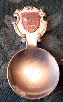 Caddy spoon with Jersey finial