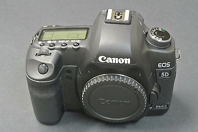 Canon EOS 5D Mark II 21.1MP 3''Screen DSLR Camera BODY ONLY - SHUTTER COUNT 1245