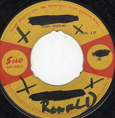 """"""" NOTHING BUT SOUL. """" phil upchurch. SUE RECORDS 7in 1966."""
