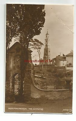Wales Portmeirion The Campanile Judges Real Photo Vintage Postcard
