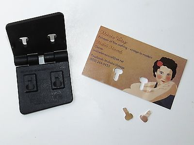 Rolodex Business Card Hole Punch Tool Black