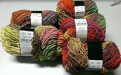 Noro Kureyon - Mixed lot  6 x 50g