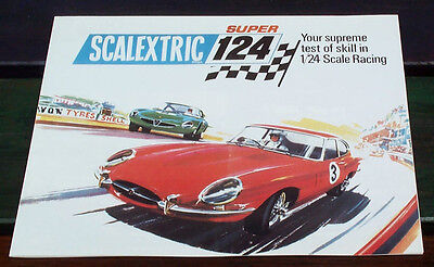 Scalextric Super 1/24 Catalogue / Poster