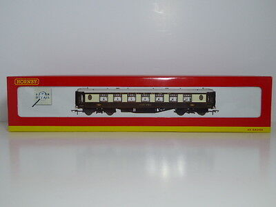 Hornby OO Pullman 2nd Parlour Coach Car No 64 R4163 With Working Table Lamps Box
