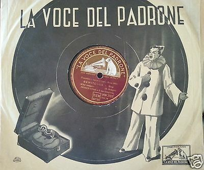 FRANCO CERRI : BEWITCHED / Tea for two 78 GIRI Voce del padrone 1951 Jazz Rare