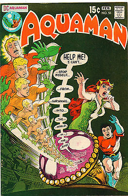 Aquaman #55 - Mera Cover Return Of The Alien! - (Grade 7.0) 1971