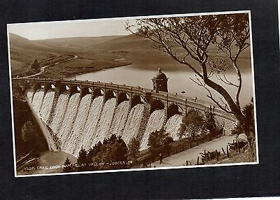 Craig Goch Dam, Elan Valley. Old Judges Postcard. Unposted