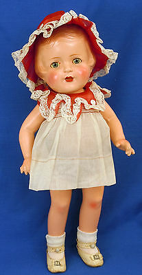 "R & B Nancy Doll with All Original Tagged Outfit Arranbee 16"" Composition"