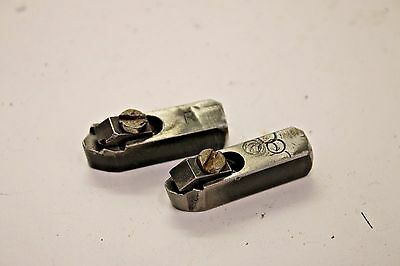 Pair of Round Right & Left Positive Rake Carbide Bit Holders for Brake Lathe A