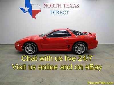 1995 Mitsubishi 3000GT Base Coupe 2-Door 95 Mitsubishi 3000 GT 6 Speed Leather  3.0 V6 Sports Rims Dual Exhaust Texas