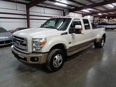2011 Ford Other Pickups  11 F450 King Ranch 4x4 GPS Navi Camera Sunroof 6.7 Diesel We Finance Texas