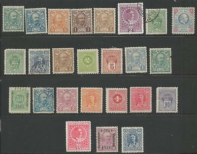 25 Montenegro Stamps from Quality Assorted Old Albums