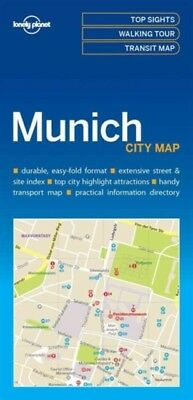 MUNICH CITY MAP, Lonely Planet, 9781786577870