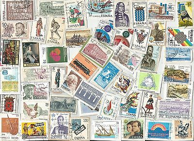A New Mix Of All Different All Peso Kiloware Stamps From Spain