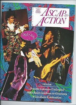 ascap in action winter 1988  PRINCE have to be a member to get publication