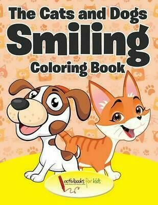 Cats and Dogs Smiling Coloring Book by Activibooks For Kids Paperback Book Free