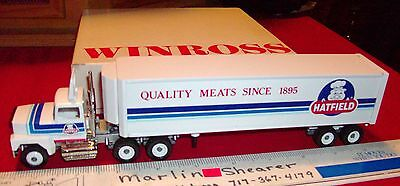 Hatfield Quality Meats Tractor Trailer Winross Truck