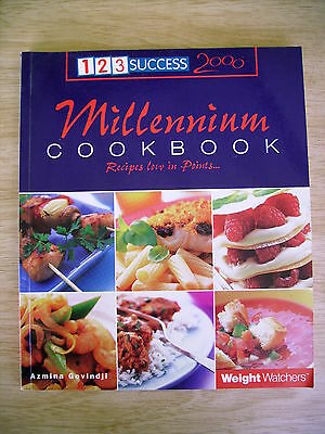 Weight Watchers Millennium Cookbook~123 Success~Recipes Low In Points~2000~P/B