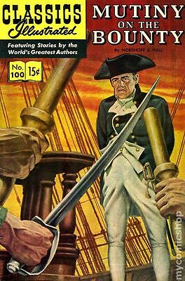 Classics Illustrated 100 Mutiny on the Bounty (1952) #8 GD/VG 3.0 LOW GRADE