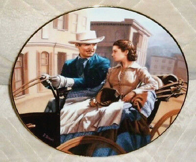 GONE WITH THE WIND The Buggy Ride Plate: Jennis W.S. George '92 Critics Choice