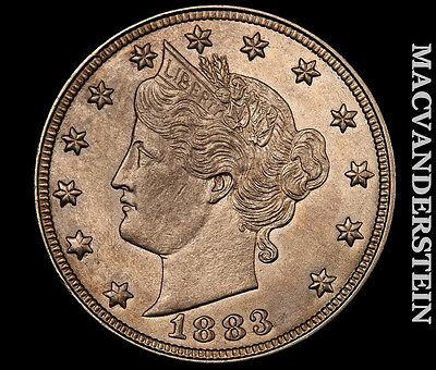 1883 Libberty Nickel- No Cent !! Uncirculated !! Luster !! #m4491