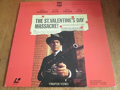 The St Valentine's Day Massacre Laserdisc Pal Pre Cert
