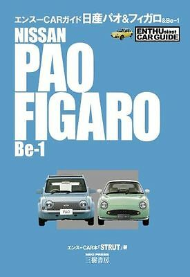 Used NISSAN PAO & FIGARO & Be-1 Complete Data Guide Japanese Book from Japan