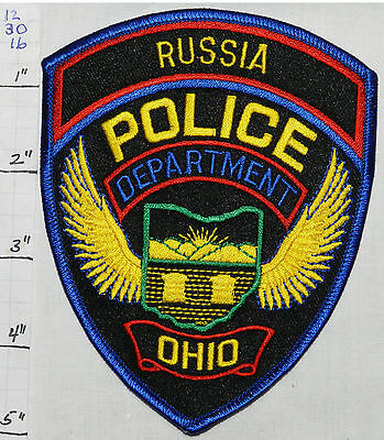 Ohio, Russia Police Dept Patch