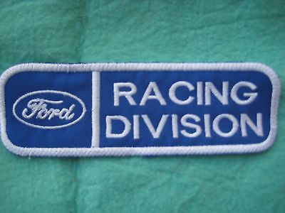 """Ford Racing Division Uniform Patch 5 1/4"""" X 1 3/4"""""""