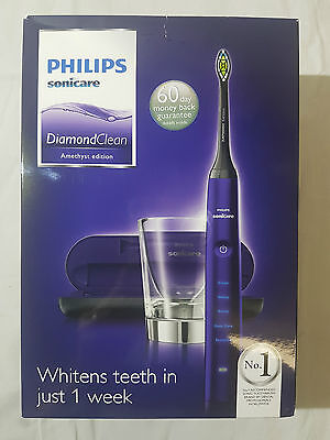 Philips Sonicare Diamond Clean Electric Toothbrush Amethyst Edition Brand New!