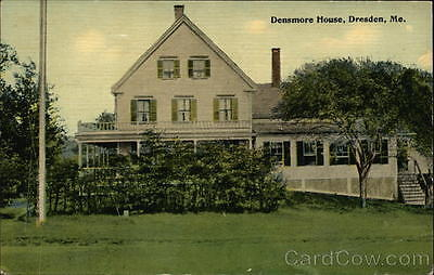 Dresden ME Densmore House Lincoln County Maine Wm. Slom Divided Back Postcard